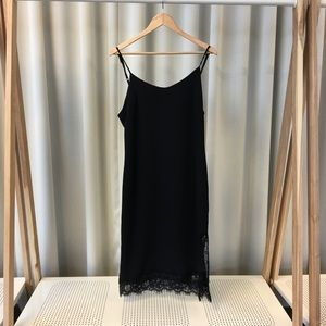 Leith Lace Hem Slip Dress