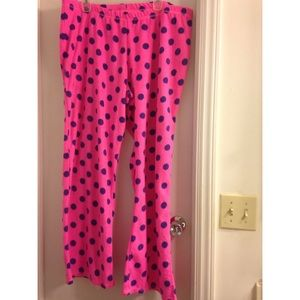 Other - Juniors polka dot pajama pants