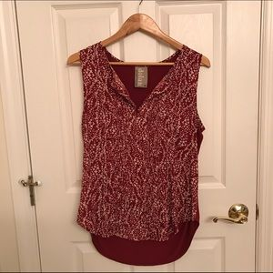 Anthropologie blouse from Dolan.