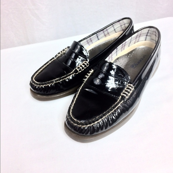 59cba3a14ea Sperry Top-Sider Black Patent Leather Loafers 👞. M 589b9f4ea88e7d4d2701b327