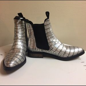 Miista Iridescent Chelsea Boots