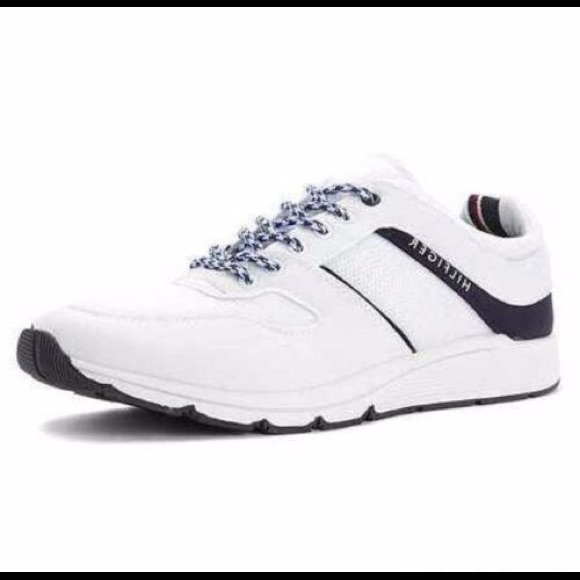 a379b674174c7f Tommy Hilfiger Sneakers 8 Shoes Tennis Sport Gym