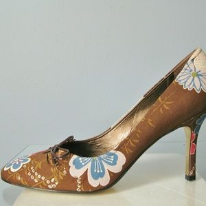 Magnolia Shoes - Floral print pumps