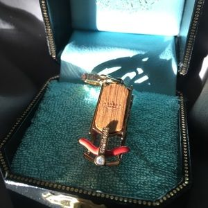 Jewelry - Vintage Juicy Couture Sled Charm