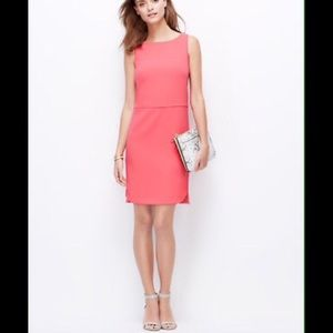 Ann Taylor Dresses & Skirts - Ann Taylor Coral Dress size 2 petite
