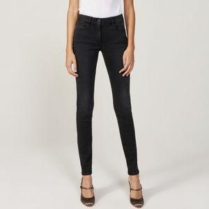 3x1 Denim - 3x1 Denim W3 High Rise Channel Seam Skinny Jean