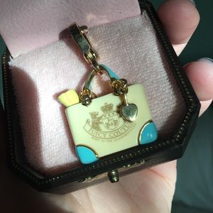 Jewelry - Vintage Juicy Couture Beach Tote Charm