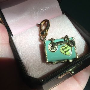 Jewelry - Vintage Juicy Couture Suitcase Charm
