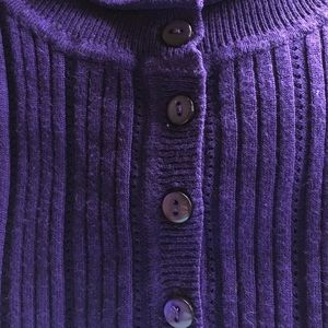 Just My Size Sweaters - JUST MY SIZE LONG SLEEVE PURPLE SWEATER