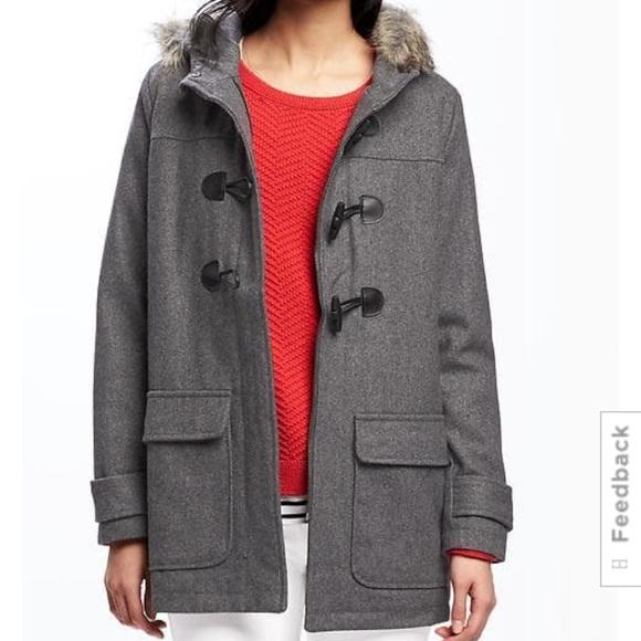 NWT OLD NAVY HOODED TOGGLE  Coat Jacket