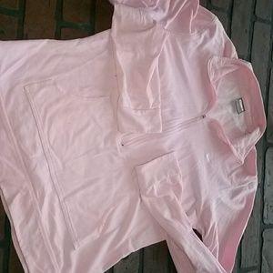 Nike deep zip pullover