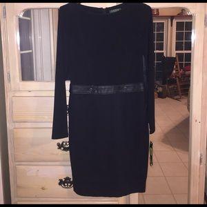 BRAND NEW! Lauren Ralph Lauren Black Dress size 8