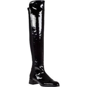 Stuart Weitzman Shoes - Stuart Weitzman Patent Over The Knee Boots