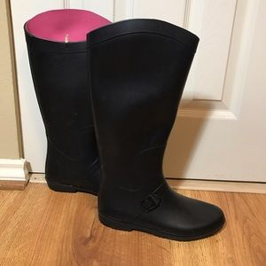 Capelli of New York Shoes - Capelli Black Rubber Boots