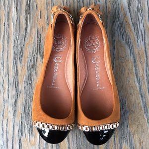 Jeffrey Campbell Shoes - Jeffrey Campbell Ibiza Gabi tan flats