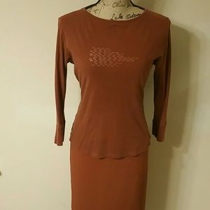 Who What Wear Dresses & Skirts - {Who What Wear} Rust Orange Outfit