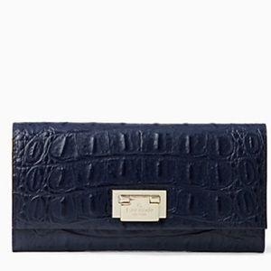 kate spade Handbags - NWT Kate Spade Navy Blue Wallet / Clutch