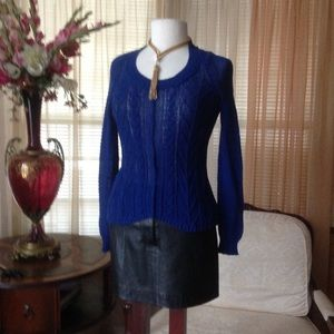 Sparrow blue knit sweater