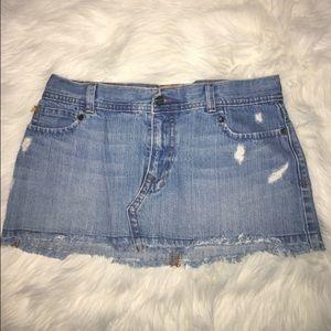 5/$25❗️Hollister Jean Skirt