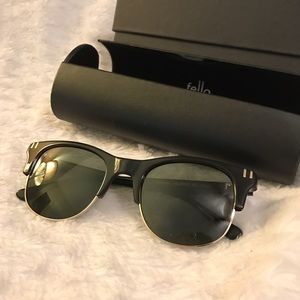 fello Accessories - Fello Classic Black Sunglasses