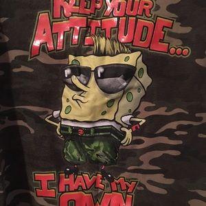SpongeBob Squarepants Other - Boys Top Size 10/12