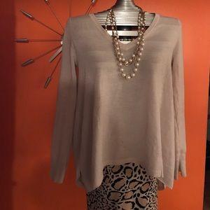 BCBG Maxazria Wool V-neck Sweater