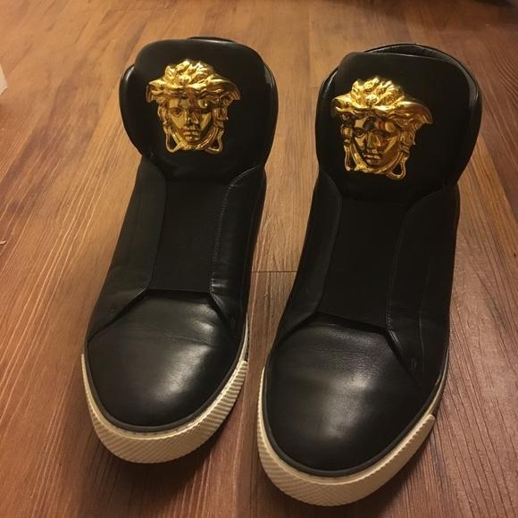 Versace Shoes   Versace Slip On High