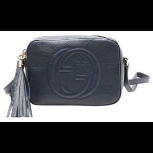 Gucci Handbags - NWT Authentic Gucci Soho Disco bag Navy