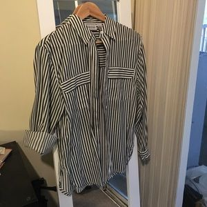 apparenza Tops - Striped button down shirt