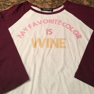 Signorelli Tops - 🍷Signorelli Wine is my Favorite Color Tee