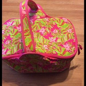 Lilly Pulitzer Handbags - 🏖🏖Lilly Pulitzer Insulated Party Cooler Basket