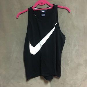 Nike muscle tee flowy tank