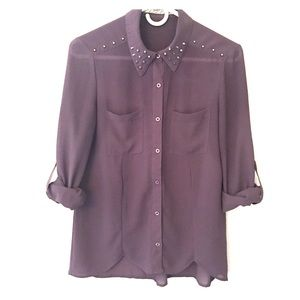 Chloe K Tops - Chloe K Button Down shirt/blouse