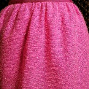 Pink Wool blend J. Crew Skirt