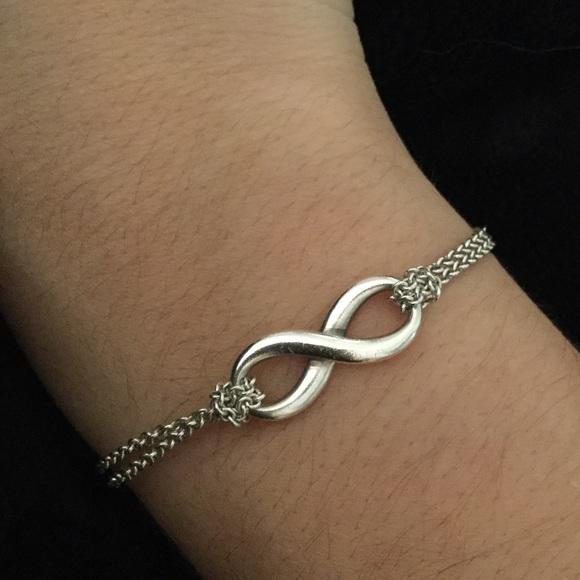 d123325e0 Tiffany & Co. Jewelry | Tiffanys Infinity Bracelet | Poshmark