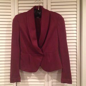 H&M Jackets & Blazers - H&M maroon blazer