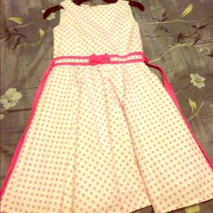 Other - Pink and white polkadot dress. Really dainty.