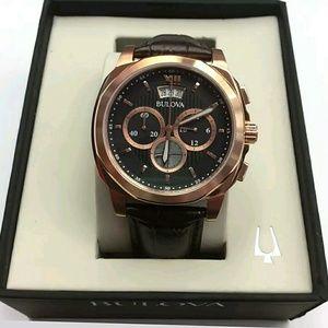 Bulova  Other - NWT Bulova Men's Chronograph Rose-Gold watch