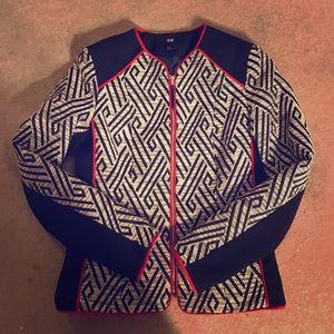 H&M Jackets & Blazers - H&M Geometric Print Blazer