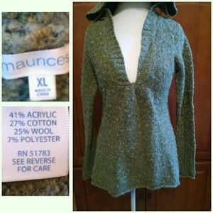 Maurices Tops - Hooded Sweater