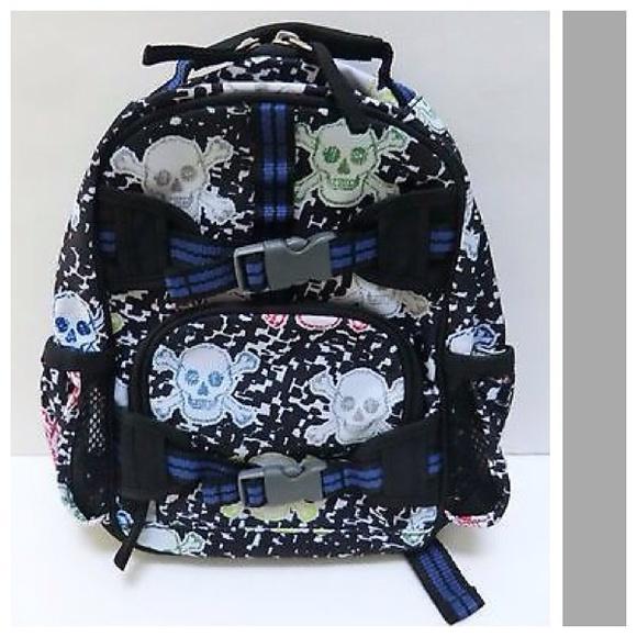 Pottery Barn Kids Accessories | Backpack Sm Boys Skeleton Nwot ...