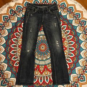 Silver Jeans Denim - Silver Aiko Jean sz 29 length 33
