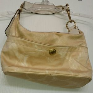 Coach Bags - Coach bag tan fabric Authentic