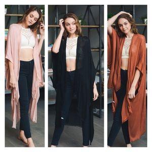 Accessories - Just In- Bohemian Kimono Cardigan