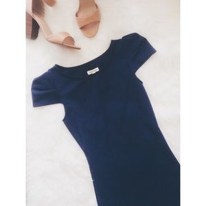 • silence + noise • Navy Blue Dress (Price Firm)
