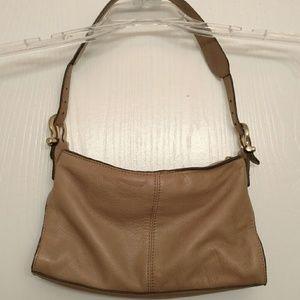Liz Claiborne Bags - Liz Claiborne NYC Small Tan Soft Leather Purse