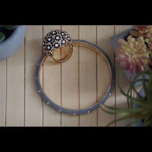 J. Crew ring and bracelet