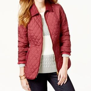 ⛔️ Tommy Hilfiger Quilted Zippered Jacket M $149
