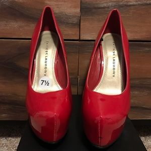 Chinese Laundry Shoes - Chinese Laundry Red Stiletto Platforms
