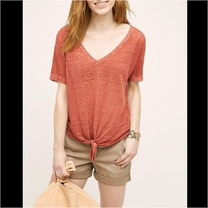 Anthropologie Tops - Anthropologie Knot Tie Top